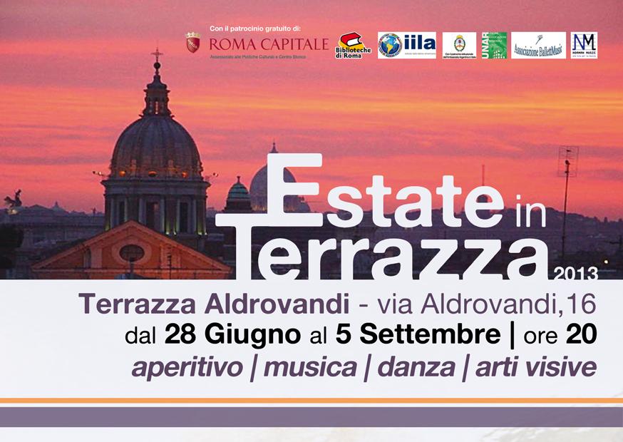 """Estate in Terrazza - """"Uno sguardo sul Mondo"""""""