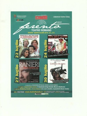 GRUPO COMPAY SEGUNDO - Ferento Teatro Romano