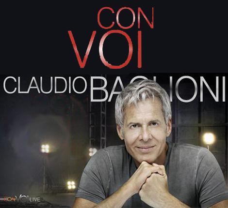CLAUDIO BAGLIONI - CON VOI TOUR