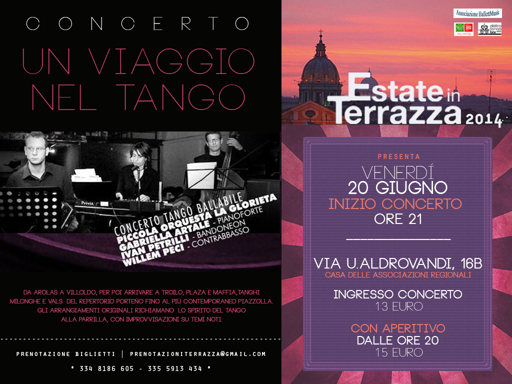 Estate in Terrazza | Piccola Orquesta La Glorieta