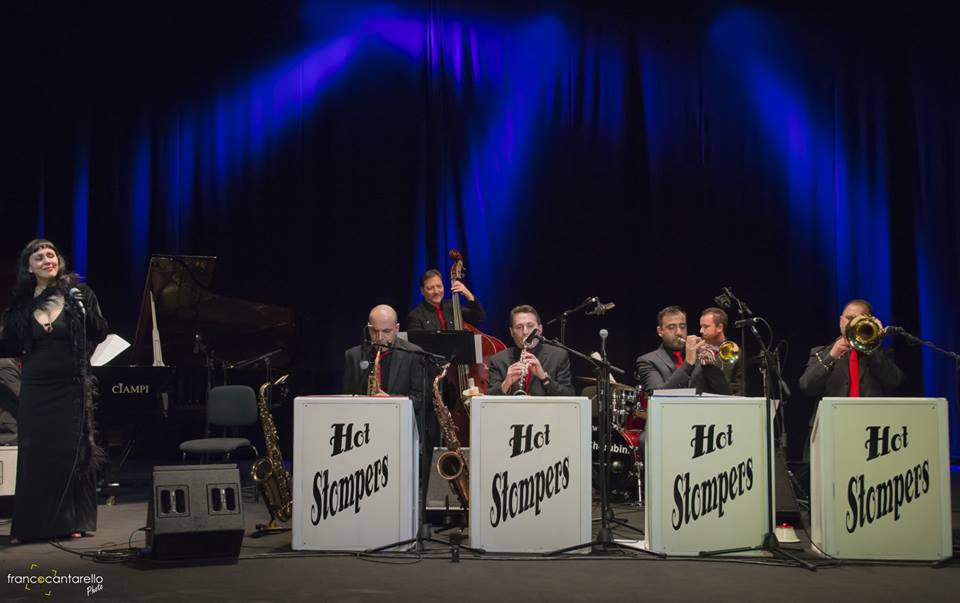 THE HOT STOMPERS feat FRANCESCA CIOMMEI