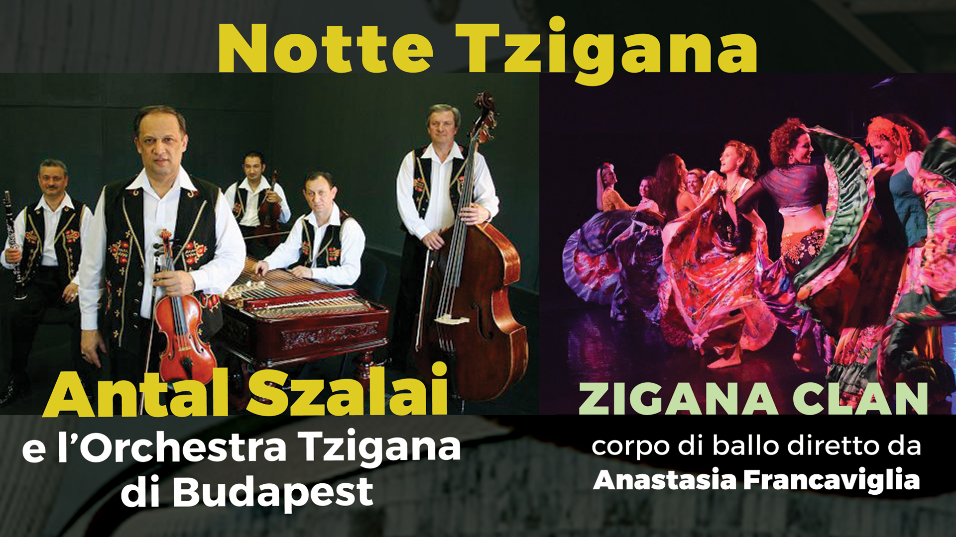 17.11.17 • Antal Szalai & Orchestra Tzigana di Budapest • Auditorium Parco della Musica