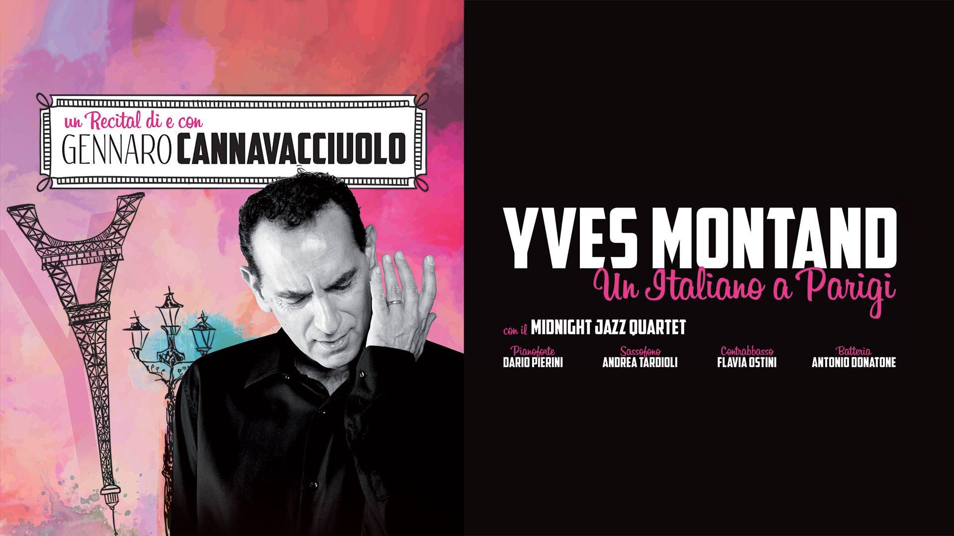 GENNARO CANNAVACCIUOLO - YVES MONTAND - UN ITALIANO A PARIGI