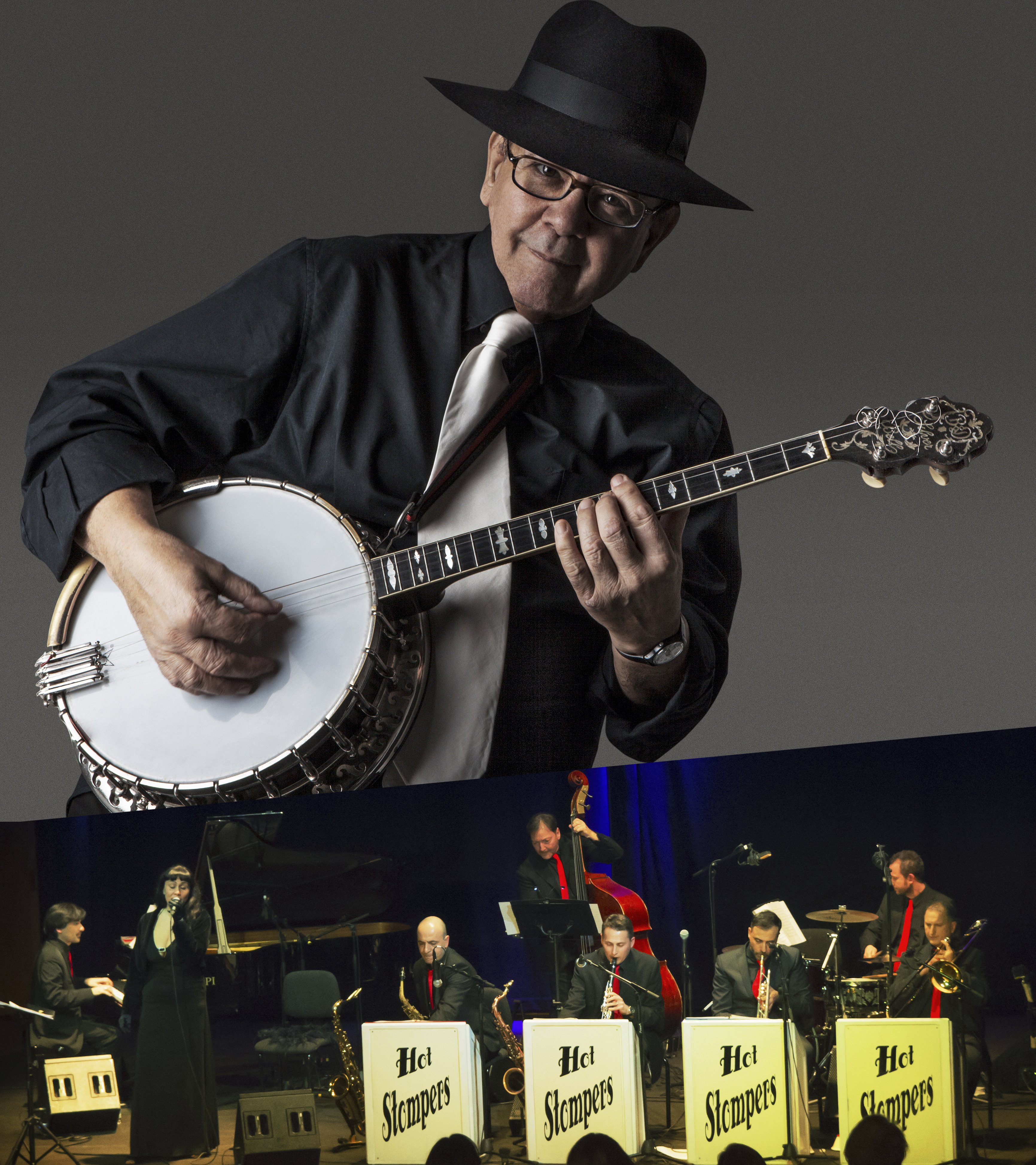 25.5.17 • Lino Patruno & Hot Stompers • Auditorium Parco della Musica