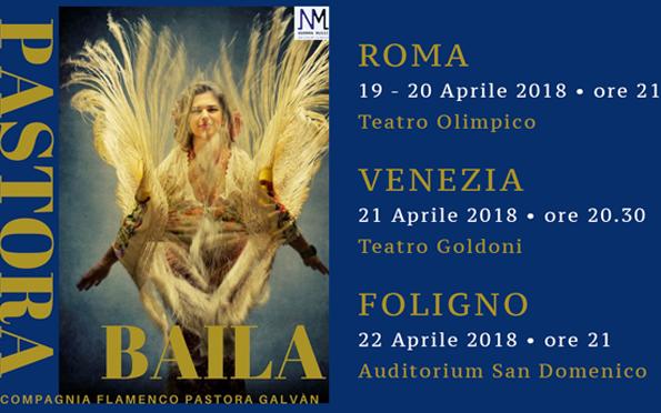 Pastora Galván 4 date in Italia ad Aprile