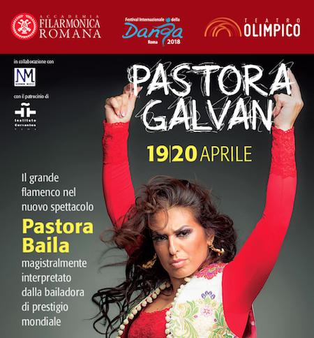 """19 e 20 Aprile 2018 • """"Pastora Baila"""" • Festival Internazionale della Danza di Roma"""