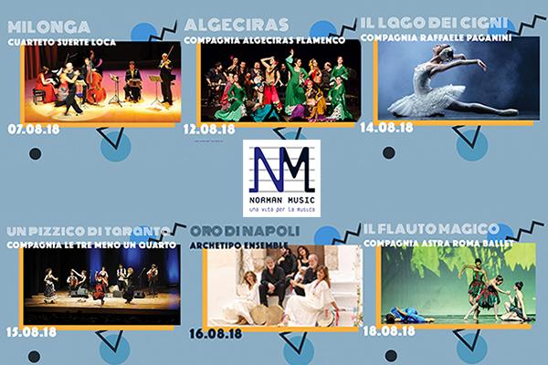 dal 7 al 18 Agosto - DANZ'è - 6 Spettacoli di Musica e Danza al Castello di Santa Severa
